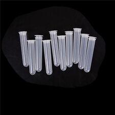 20ml Plastic Test Tubes Centrifuge Tubes Round Bottom Multiple Length 110mm LR