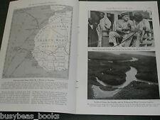 1942 FRENCH WEST AFRICA magazine article, DAKAR, Natives, WWII happenings