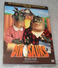 Dinosaurs Complete Seasons Series 3 & 4 DVD Box Set - BRAND NEW & SEALED