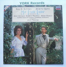 MY FAIR LADY - Te Kanawa / Irons / Mitchell - Ex Con LP Record Decca MFL 1