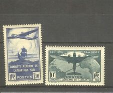 "FRANCE STAMP TIMBRE N° 320/21 "" CONQUETE AERIENNE ATLANTIQUE SUD "" NEUFS xx SUP"
