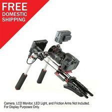 NEW PR-1 Prime Video Shoulder Rig Kit for DSLR Nikon Cannon Camcorder