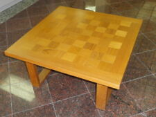 CADO Danish Modern Mid Century Teak Checkerboard Table
