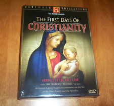 THE FIRST DAYS OF CHRISTIANITY ULTIMATE COLLECTIONS HISTORY  CHANNEL DVD NEW
