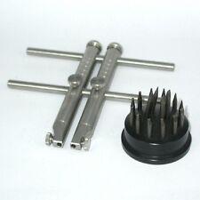 Giravite chiave a compasso professionale ad inserti intercambiabile acciaio INOX
