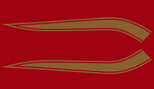 72 Honda CB450 K5 Fuel Gas Tank Stripe Decals Decal Set 1972 BROWN - RED - OLIVE