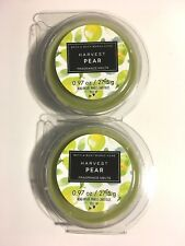2 NEW BATH & BODY WORKS HARVEST PEAR FRAGRANCE WAX MELTS TART CANDLE REFILL .97