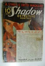 VINTAGE SHADOW PULP MAY 1932 HANDS IN THE DARK WALTER GIBSON