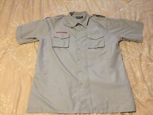 Scouts BSA Uniform Short Sleeve Shirt, Men's size L