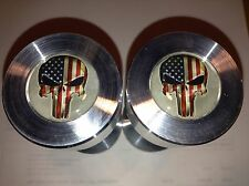 "Two hole pins Standard size. Punisher American Flag!  1/2"" to 1-5/8"""