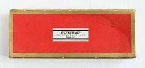 Eversharp Adjustable Point Doric Pen/Pencil SET Original Red/Gold EMPTY BOX ONLY