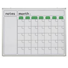 Wall Mounted Calendar Whiteboard 1200*905mm