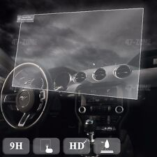 Temepred Glass Navigation GPS Screen protector For 14-16 Ford Taurus Bubble Free