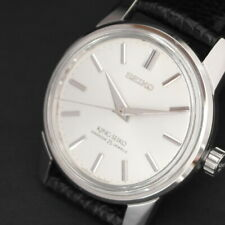 Vintage King Seiko KS 1966 Shield Medallion Luxury Men's Watch 44-9990 Very Rare