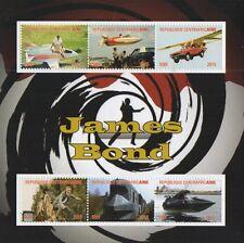 James BOND 007 Daniel Craig REPUBLIQUE centrafricaine 2015 MNH STAMP SHEETLET