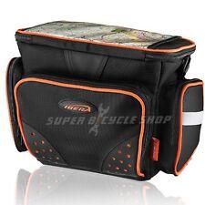IBERA PakRak Bike Handlebar Camera Pack With Clear Map Sleeve
