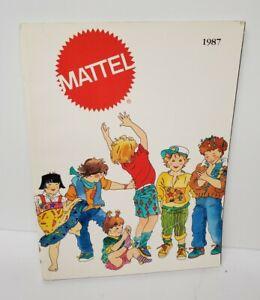 Vintage 1987 Mattel Dealer Toy Catalog Masters Of The Universe Hot Wheels Barbie