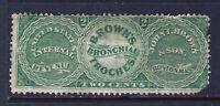 Bigjake: RS40a, 2 cent John I. Brown & Son - Match & Medicine