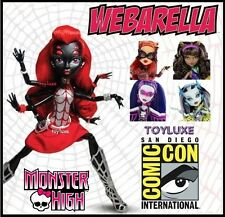 Monster High POWER GHOULS Set SDCC Webarella Toralei Spectra Clawdeen & Frankie