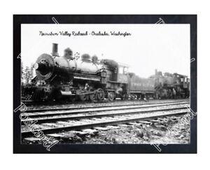 Historic Newaukum Valley Railroad - Onalaska, Washington Train Postcard 3