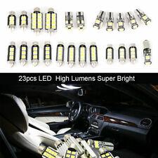 23pcs LED Car Light Bulb White Interior Map Dome Trunk License Plate Lamps Kit