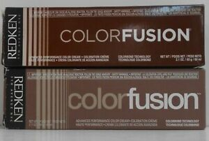 REDKEN Color Fusion NATURAL BALANCE Advanced Performance Hair Color ~ 2 fl oz!!