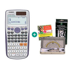 Casio fx 991 es plus calculadora + geometrieset y mathefritz aprender CD