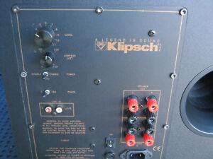 Klipsch KSW-12 440W Powered Subwoofer Black