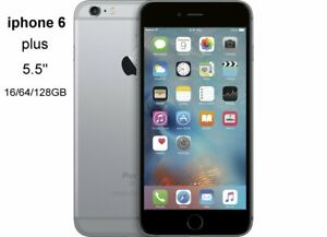 iphone 6 plus 5.5 inch Original Unlocked cellphone IPS 16/64/128GB ROM GSM WCDMA