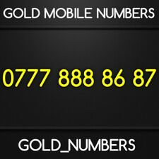 GOLD EASY VIP NUMBER GOLDEN MOBILE PHONE NUMBER IPHONE NUMBER 07778888687