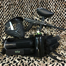 New Tippmann Gryphon Legendary Paintball Marker Gun Package Kit - Carbon Fiber