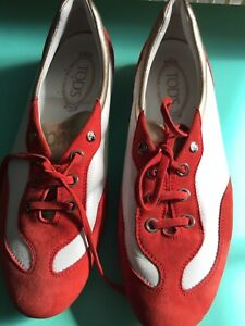 Tod's Red&White Athletic Made In Italy 39