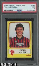 1985 Panini Calciatori Soccer #154 Paulo Maldini PSA 7 NM