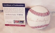 ELLEN BURSTYN Signed Baseball Actress Legend The Exorcist Autograph PSA/DNA COA