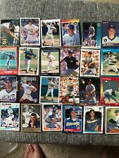 Bill Wegman (24) Card Lot Milwaukee Brewers