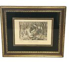 Currier and Ives Maple Sugaring Framed Print