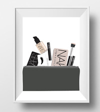 Maquillage poster A4 Photo Wall Art Home Decor Cosmetics NARS illustration