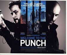 [5064] James McAvoy Mark Strong Welcome Punch Signed 8x10 Photo AFTAL