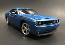 2010 Dodge Challenger R/T 1/18 Deep Water Blue Pearl Highway 61
