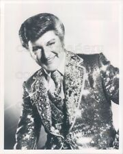Entertainer Liberace Wearing Sparkling Jacket Press Photo