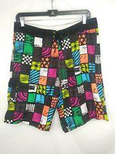 Burnside mens board shorts 38 swim trunks