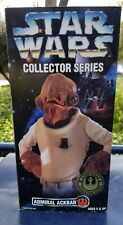 Star Wars Admiral Ackbar 12 inch action figure vintage 1997 by Kenner
