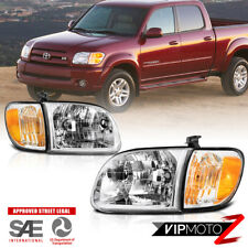 Toyota Tundra 2000-2004 OE Style [4PC SET] Headlights Corner Lamps Right Left