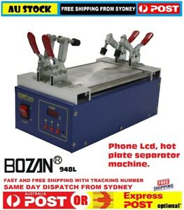 Mobile phone screen Separator repair heating plate LED rework station with clip