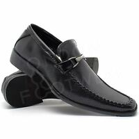 New Mens Black Patent Italian Shoes Formal Wedding Party Dress Office Size 6-11