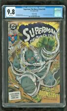 CGC 9.8 SUPERMAN THE MAN OF STEEL #18 1ST FULL APPEARANCE OF DOOMSDAY 2ND PRINT