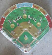 Vintage 1060s Marx Baseball Bagatelle Game Works Great
