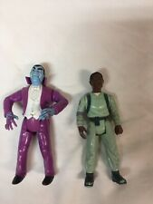"""Real Ghostbusters Dracula Action figure 5"""" 1989 Kenner & Winston Zeddemore"""