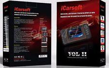 BEST OBD2 iCarsoft VOL II VOLVO SAAB Diagnostic Scanner Tool SRS ABS ENGINE