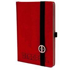 Official Marvel Deadpool Mask Premium A5 Hardback Notebook Journal Jotter
